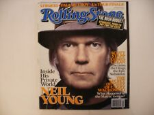 Rolling Stone Neil Young Issue 992 January 26 2006