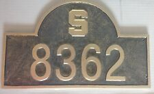 """MSU MICHIGAN STATE UNIVERSITY SPARTANS HOUSE NUMBER SIGN 8362 """"S"""""""