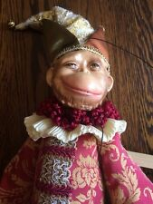 Katherines Collection Marionette Monkey Doll Puppet
