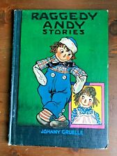 RAGGEDY ANDY STORIES Johnny Gruelle 1960 Bobbs Merrill