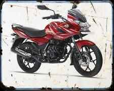 Bajaj Discover 150 14 01 A4 Metal Sign moto antigua añejada De