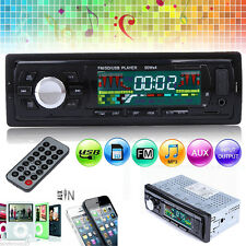 Car Audio Stereo In-Dash FM Aux Input Receiver SD USB MP3 Radio Player Remote