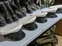 Canadian Forces RCN Navy  Officers  Peak Cap Hat  Size 7