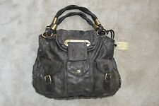 Dolce   Gabbana XX Anniversary Brown Leather Shoulder Hobo Magnetic Flap  Handbag 72a10db92051c