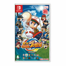Nintendo Switch Jikkyou Powerful Pro Yakyuu Japanese Version
