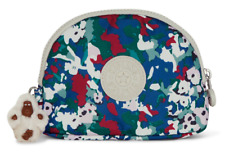 Kipling Ivy Large Coin Accessory Purse Pouch Bag Tinted Floral Multi-Color