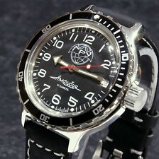 Vostok  Amphibia 'GRU' Custom Russian Auto Dive Watch, New, Boxed,UK Seller