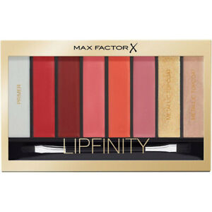 Max Factor Lipfinity Designer Lip Palette-04 Reds~New Sealed Stock ~ Xmas Gifts!