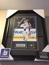 Carey Price MONTREAL CANADIENS unsigned 8x10 Hockey Frame Cadre photo Ihaa !