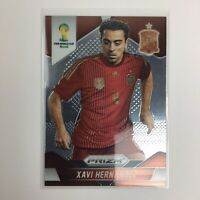 2014 Panini Prizm WORLD CUP SOCCER CARD Xavi Hernandez SPAIN FIFA Mint 🔥