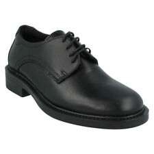 100% Leather Slip Resistant Lace-up Shoes for Men