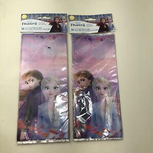 2- Wilton Frozen 2 Treat Candy  Bags 32ct Wilton