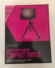 Small Tripod for Smartphone/Compact Digital Cameras adjustable, great for travel