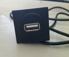 VW TRANSPORTER T5 DASHBOARD USB PHONE CHARGER  SOCKET