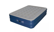 Serta 18 In Raised Queen Perfect Sleeper Inflatable Mattress With AC Pump