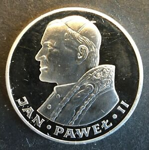 Poland - Silver 100 Złotych Coin - 'Papal Visit' - 1982 - Proof