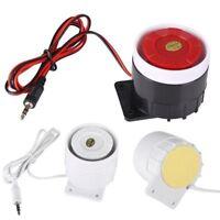 Doorbell Indoor Siren Wired Mini Horn Home Security Sound Alarm Doorbell System