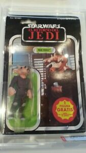 EL RETORNO DEL JEDI PBP MOC AFA SPANISH REE YEES - (Return of the Jedi).