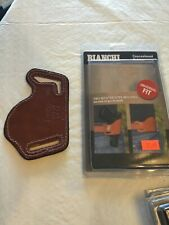 Bianchi #101 Foldaway Concealment Holster ~ Brown ~ #10  leather, new universal