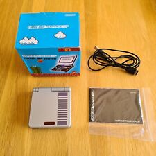 Nintendo Game Boy Advance SP Classic NES Limited Edition Box - Charger - Manual