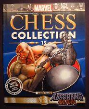 Eaglemoss Marvel Chess Iusse #15 Absorbing Man Magazine Only No Figure