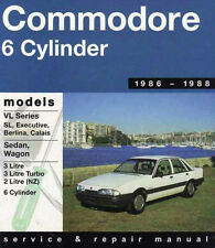 Holden Commodore VL 1986- 1987 Gregorys Service & Repair Workshop Manual #238