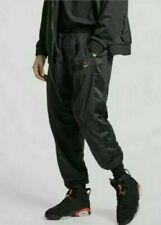 Air Jordan Lightweight Flight Warm Up Pants Black/Red Men's Sz L NEW AO0557-010