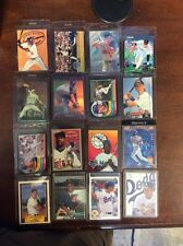 Lot of 16 Baseball Cards Rigid Plastic Sleeves Ungraded Uncertified Collectibles