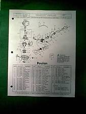 Poulan Paramount Gas Hedge Trimmer Model Pht19 Parts Manual