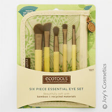 "1 ECOTOOLS Makeup Brush - 6 Piece Essential Eye Set ""ET-1227""  *Joy's cosmetics*"