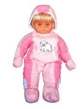 Playshoes Süßer Baby-Schneeanzug Eisbär, rosa, Gr. 80