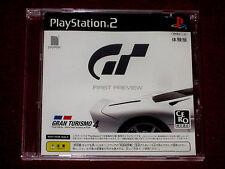 PS2 Game Demo GT GRAN TURISMO 4 FIRST PREVIEW NTSC-J Japan Taikenban Trial Promo