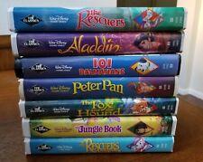 Disney VHS Black Diamond Lot of 7