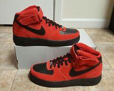 Nike Air Force 1 Mid '07 Gym Red/Black Men's SZ 10.5 NEW 315123-606 NO BOX TOP
