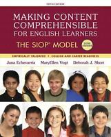2017 SIOP Making Content Comprehensible for English Learners The SIOP Model