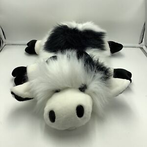 Ganz Heritage Collection Googles Cow Plush Hand Puppet Soft Toy Pretend Play