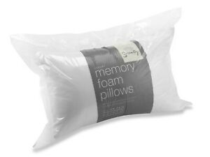 Pillow Memory Foam Core Orthopaedic Luxury  Extra Support Firm Serenity 1 Pillow
