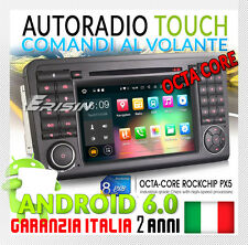 "AUTORADIO 7"" ANDROID 6.0 DAB+ WIFI Mercedes ML GL W164 X164 300 350 450 500"