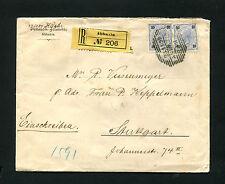 """Österreich - """"Abbazia"""" auf Reko Brief von 1899   (#629)"""