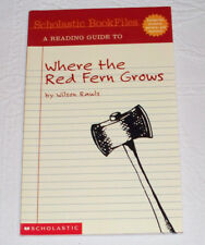 Where the Red Fern Grows Reading English Literature Guide Scholastic Bookfiles