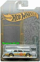 HOT WHEELS 2019 SATIN & CHROME 51ST ANNIVERSARY '71 DATSUN 510 WAGON  #2/6
