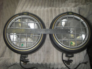 Driving Lights Land Rover, Range Rover Genuine Large Pair, post @ buyers cost *