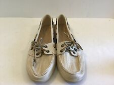 Womens Sperry 2 Fish Eye Boat Shoes Size 9.5 M