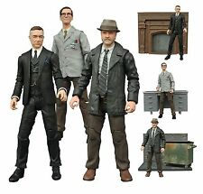 DIAMOND SELECT GOTHAM TELEVISION SERIES 2 FIGURES SET OF 3 BULLOCK ALFRED EDWARD