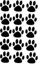 15 ADESIVI Paw Print per la tua auto o Muro-gatto o cane