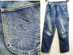 mastermind JAPAN × Lee bespoke denim painter pants W30