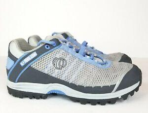 Pearl Izumi X-Alp 5730 Cycling Shoes Gray Blue Womens 40 US 8.5