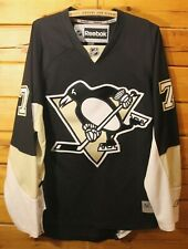 Reebok NHL Sewn Hockey Jersey Pittsburgh Penguins Evgeni Malkin Adult Size L +