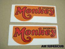 Honda Monkey Z50 Z50A Z50Z side cover sticker // A Pair