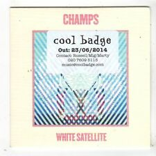 (FY628) Champs, White Satellite - 2014 DJ CD